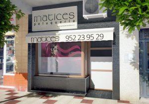 exterior peluquería Matices